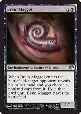 When they have to use a removal spell on your 1/1, you know you're winning.
