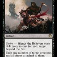 "Check out the Journey Into Nyx Spoilers on our official [JOU] Mini-Site!   This is….expensive. 7 mana to kill two dudes seems like it's a bad Sever the Bloodline in <a href=""http://www.quietspeculation.com/2014/04/jou-spoiler-silence-the-believers/#more-'"" class=""more-link"">more »</a>"