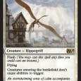Today we got one of the few eternal playable cards from M15: Hushwing Gryff