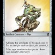 "Frogmite. Myr Enforcer. Meet the face of Affinity. At least, it's the face of Affinity five years ago. As we all know, the actually ""Affinity"" deck mostly stopped running cards […]"