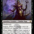 Narset Transcendent I launched right into this. No preamble. No need. This card is bonkers. I saw a friend (hyperbolically) say this was better than Jace the Mind Sculptor. While […]