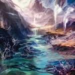 Polluted-Delta-Expeditions-Battle-for-Zendikar-MtG-Art