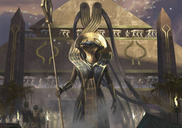 Bontu-the-Glorified-Invocations-Amonkhet-MtG-Art