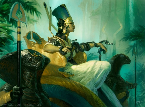 Hapatra-Vizier-of-Poisons-Amonkhet-MtG-Arts