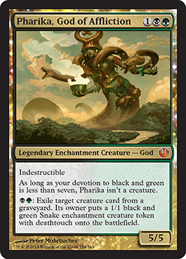 JOU Spoiler Spotlight: Pharika, God of Affliction