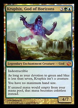 JOU Spoiler: Kruphix, God of Horizons