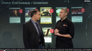 A new Sideboard feature made its debut at PT M15