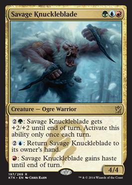 Savage-Knuckleblade-Khans-of-Tarkir-Spoiler