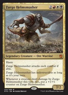 Zurgo-Helmsmasher-Khans-of-Tarkir-Spoiler