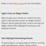 MTGO is Making Players Angry Again (<i>Fate Reforged</i> Edition)