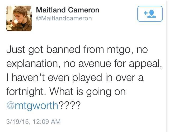 MTGO Adds a New Subgame: Random Bannings!
