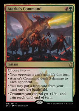 Dragons of Tarkir Spoilers 3/5/15