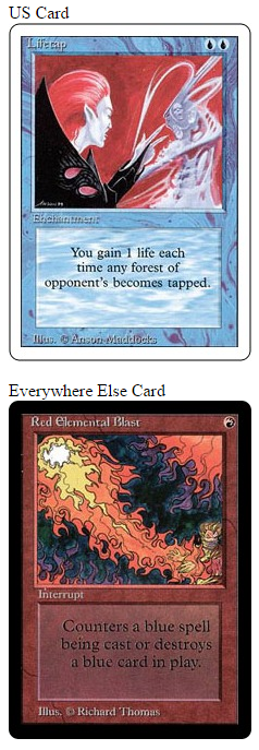 What's Your MTG BirthCard?
