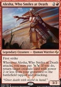 Tiny Tuesday- Alesha, Who Smiles at Death