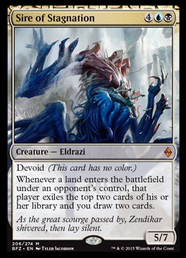 Sire of Stagnation Just Took Battle for Zendikar to the Next Level