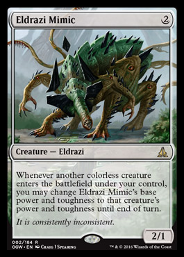 Lessons Learned at the Eldrazi Open