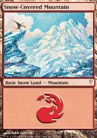 Stock Watch- Snow-Covered Mountain