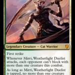 C17 Preview – Mirri, Weatherlight Duelist (M)