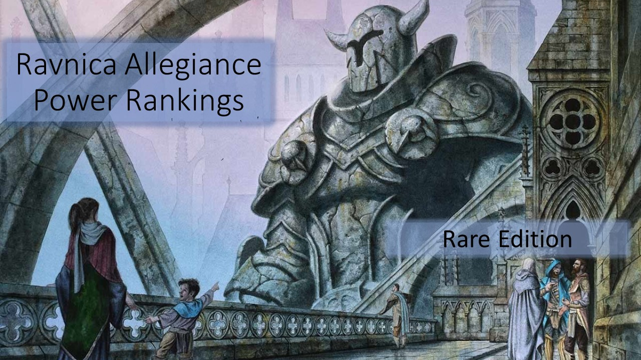 Ravnica Allegiance Power Rankings: Rare Edition