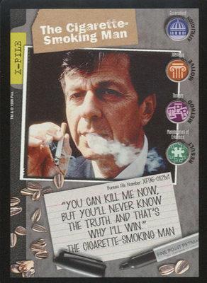 The Cigarette Smoking Man, X-Files CCG
