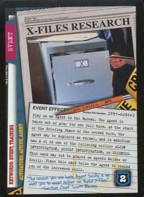 X-Files Research