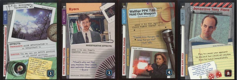 X-Files CCG Card Types