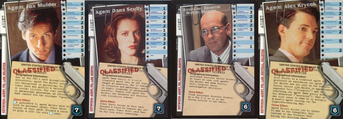 X-Files CCG Agents