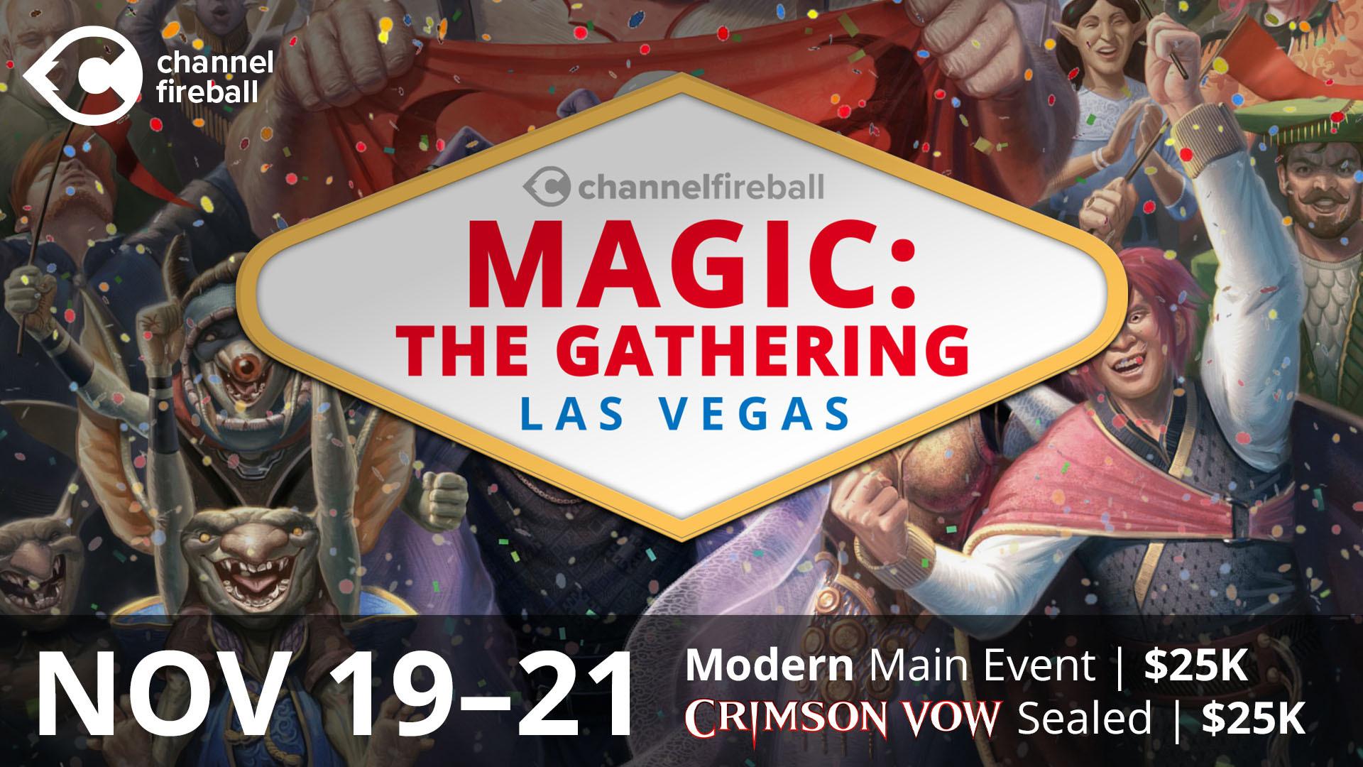 ChannelFireball Announces Magic: the Gathering Las Vegas Nov 19-21